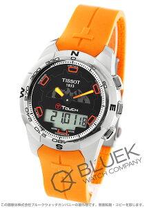 ティソ TISSOT 腕時計 T-タッチ II チタニウム ユングフラウ鉄道100周年 メンズ T047.420.47.051.11