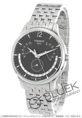 ティソ T-クラシック トラディション パーペチュアルカレンダー 腕時計 メンズ TISSOT T063.637.11.067.00