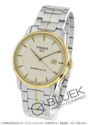 ティソ TISSOT 腕時計 T-クラシック ラグジュアリー メンズ T086.407.22.261.00