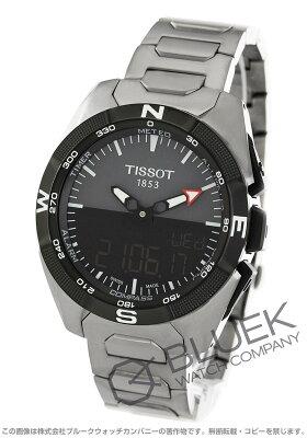 ティソ TISSOT 腕時計 T-タッチ エキスパート ソーラー メンズ T091.420.44.081.00