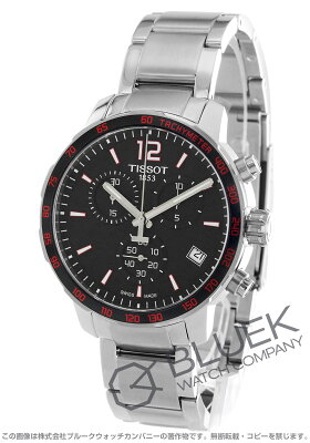 ティソ T-スポーツ クイックスター クロノグラフ 腕時計 メンズ TISSOT T095.417.11.057.00