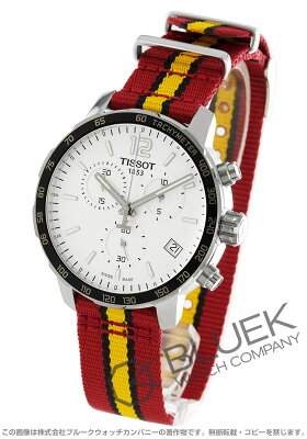 ティソ T-スポーツ クイックスター NBAマイアミ・ヒート クロノグラフ 腕時計 メンズ TISSOT T095.417.17.037.08
