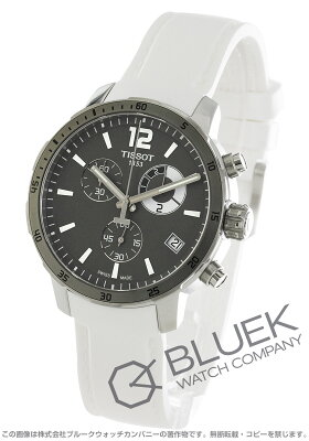 ティソ TISSOT 腕時計 T-スポーツ クイックスター クロノ フットボール メンズ T095.449.17.067.00