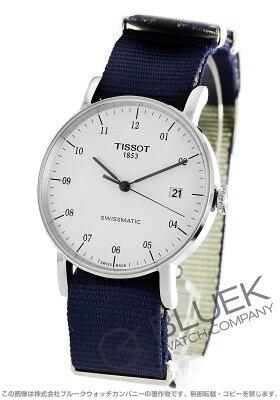 ティソ TISSOT 腕時計 T-クラシック エヴリタイム スイスマティック メンズ T109.407.17.032.00