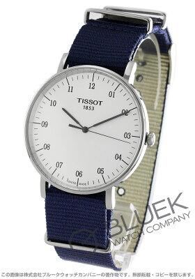 ティソ TISSOT 腕時計 T-クラシック エブリタイム ラージ メンズ T109.610.17.037.00