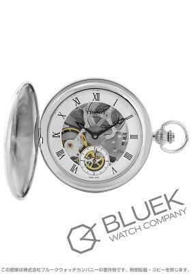 ティソ TISSOT 腕時計 T-クラシック ブリッジポート メカニカル スケルトン メンズ T859.405.19.273.00