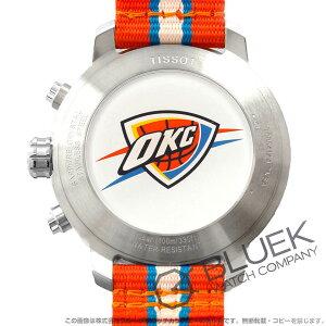 ティソ T-スポーツ クイックスター NBAオクラホマシティ・サンダー クロノグラフ 腕時計 メンズ TISSOT T095.417.17.037.14