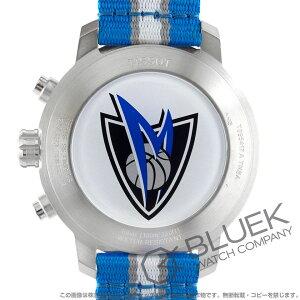 ティソ T-スポーツ クイックスター NBAダラス・マーベリックス クロノグラフ 腕時計 メンズ TISSOT T095.417.17.037.19