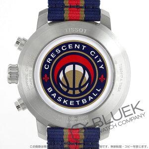 ティソ T-スポーツ クイックスター NBAニューオーリンズ・ペリカンズ クロノグラフ 腕時計 メンズ TISSOT T095.417.17.037.21