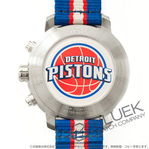 ティソ T-スポーツ クイックスター NBAデトロイト・ピストンズ クロノグラフ 腕時計 メンズ TISSOT T095.417.17.037.22