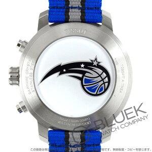 ティソ T-スポーツ クイックスター NBAオーランド・マジック クロノグラフ 腕時計 メンズ TISSOT T095.417.17.037.31