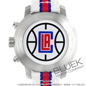 ティソ T-スポーツ クイックスター NBAロサンゼルス・クリッパーズ クロノグラフ 腕時計 メンズ TISSOT T095.417.17.037.33