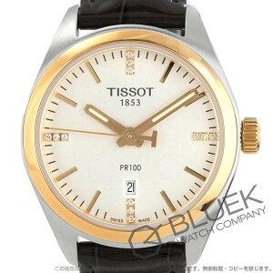 ティソ T-クラシック PR100 ダイヤ 腕時計 レディース TISSOT T101.210.26.036.00
