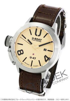 ユーボート クラシコ U-47 AS1 替えベルト付き 腕時計 メンズ U-BOAT 8106