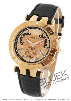 ヴェルサーチ V-レース クロノグラフ レトログラード 替えベゼル付き 腕時計 メンズ VERSACE 23C80D999S497
