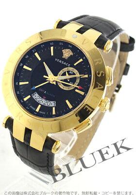 ヴェルサーチ V-レース クロノグラフ GMT 腕時計 メンズ VERSACE 29G70D009S009