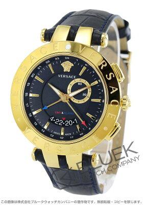 ヴェルサーチェ V-レース GMT 腕時計 メンズ VERSACE 29G70D282S282