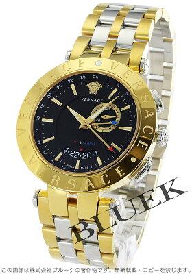 ヴェルサーチ V-レース GMT 腕時計 メンズ VERSACE 29G79D009S079