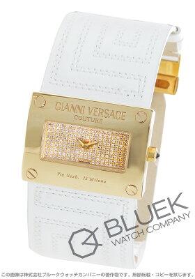 ヴェルサーチ VERSACE 腕時計 V-クチュール ダイヤ YG金無垢 レディース 71Q00SD91FS01-WHT