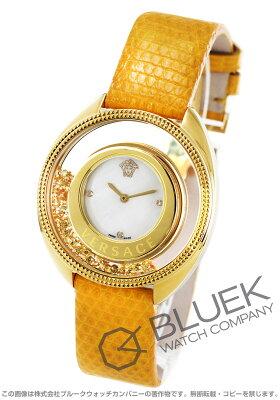 ヴェルサーチ VERSACE 腕時計 ディスティニー プレシャス ダイヤ リザードレザー レディース 86Q721MD497S585