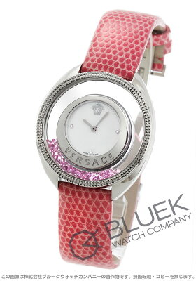 ヴェルサーチェ ディスティニー プレシャス ダイヤ リザードレザー 腕時計 レディース VERSACE 86Q951MD497S111