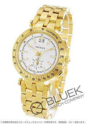 ヴェルサーチ V-レース クロノグラフ 替えベルト・ベゼル付き 腕時計 メンズ VERSACE VAH030016
