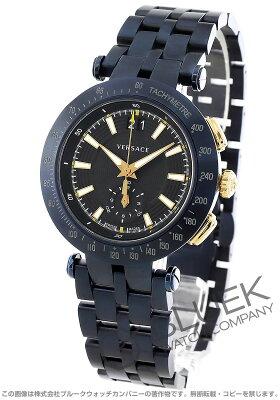 ヴェルサーチ VERSACE 腕時計 V-レース 替えベルト・ベゼル付き メンズ VAH050016