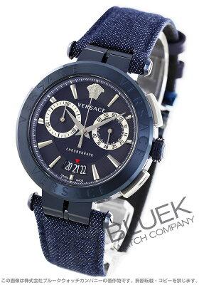 ヴェルサーチェ V-レース クロノグラフ 腕時計 メンズ VERSACE VBR070017