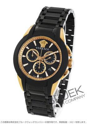 ヴェルサーチェ キャラクター クロノ クロノグラフ 腕時計 メンズ VERSACE VEM800418