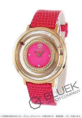 ヴェルサーチ VERSACE 腕時計 ヴィーナス ダイヤ リザードレザー レディース VFH150014