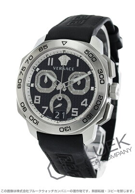 ヴェルサーチェ ディロス クロノ クロノグラフ 腕時計 メンズ VERSACE VQC010015