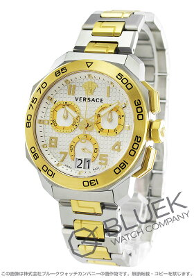 ヴェルサーチ VERSACE 腕時計 ディロス クロノ メンズ VQC030015