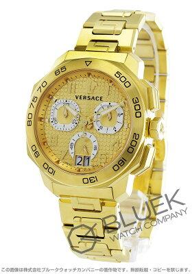 ヴェルサーチ VERSACE 腕時計 ディロス クロノ メンズ VQC040015