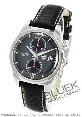 ヴィスコンティ VISCONTI 腕時計 ローマ 60'S 2トーン クロノ メンズ KW21-04