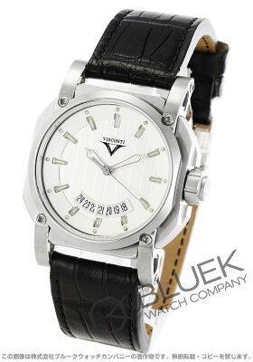 ヴィスコンティ VISCONTI 腕時計 2スクエアード エレガンス アップ トゥ デイト アリゲーターレザー 世界限定250本 メンズ W101-01-101-010