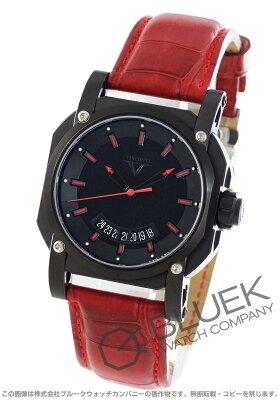 ヴィスコンティ 2スクエアード スポーツ アップ トゥ デイト アリゲーターレザー 世界限定250本 腕時計 メンズ VISCONTI W101-01-103-002