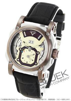 ヴィスコンティ VISCONTI 腕時計 2スクエアード イメージ GMT アリゲーターレザー 世界限定250本 メンズ W102-04-105-020