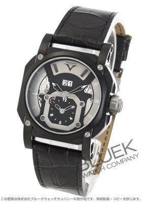 ヴィスコンティ VISCONTI 腕時計 2スクエアード スポーツ GMT アリゲーターレザー 世界限定250本 メンズ W102-04-106-000
