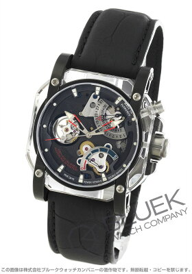 ヴィスコンティ VISCONTI 腕時計 2スクエアード クリスタル デモ アリゲーターレザー 世界限定19本 メンズ W107-03-173-071