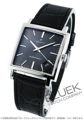 ゼニス Zenith 腕時計 ニューヴィンテージ1965 アリゲーターレザー メンズ 03.1965.670/91.C591