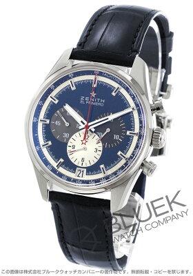 ゼニス Zenith 腕時計 エル プリメロ クロノマスター 36000VpH アリゲーターレザー メンズ 03.2040.400/53.C700