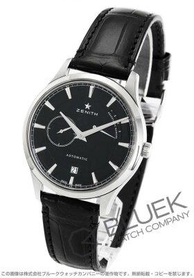 ゼニス Zenith 腕時計 エリート キャプテン パワーリザーブ アリゲーターレザー メンズ 03.2122.685/21.C493