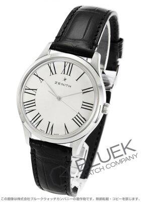 ゼニス Zenith 腕時計 エリート クラシック アリゲーターレザー メンズ 03.2290.679/11.C493