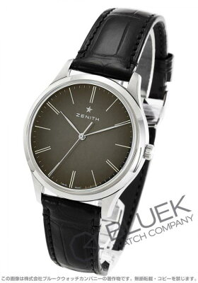 ゼニス Zenith 腕時計 エリート クラシック アリゲーターレザー メンズ 03.2290.679/26.C493