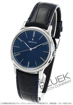 ゼニス Zenith 腕時計 エリート クラシック アリゲーターレザー メンズ 03.2290.679/51.C700