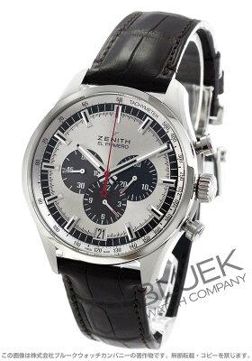 ゼニス Zenith 腕時計 エル プリメロ クロノマスター 36000VpH アリゲーターレザー メンズ 03.2520.400/69.C713