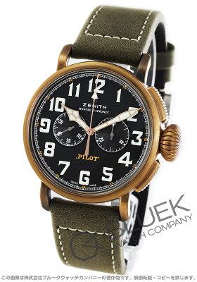ゼニス Zenith 腕時計 パイロット タイプ20 エクストラスペシャル メンズ 29.2430.4069/21.C800