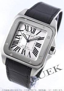 【カルティエ】【W20073X8】【CARTIER SANTOS 100】【腕時計】【新品】【5年保証付】カルティエ...