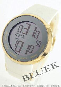 Gucci YA114 I gucci Grammy special edition rubber white /GP silver men YA114216