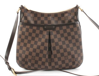 Louis Vuitton LOUIS VUITTON Damier Bloomsbury GM shoulder bag dark brown N42251